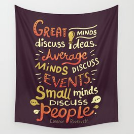 Great Minds Wall Tapestry
