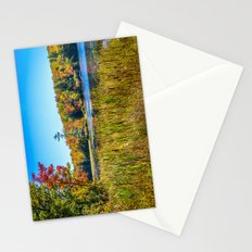 Along the fishing marsh. Stationery Cards