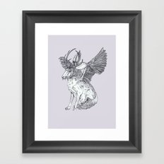 The Wolpertinger Framed Art Print