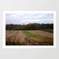 Unmarked Trail Art Print