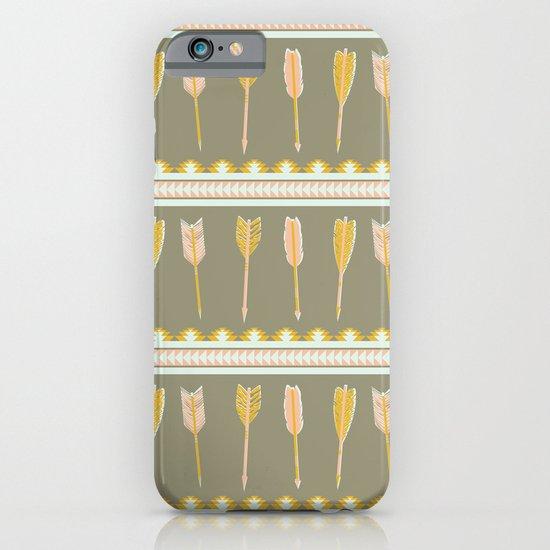 aztec arrows iPhone & iPod Case