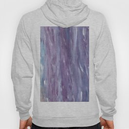 Touching Purple Blue Watercolor Abstract #1 #painting #decor #art #society6 Hoody