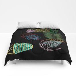 Cambrian Era Trilobites 2 Comforters