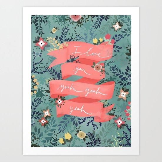 Flowers II Art Print