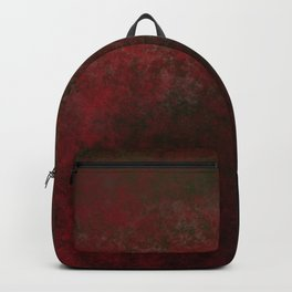 Grunge bright red Backpack