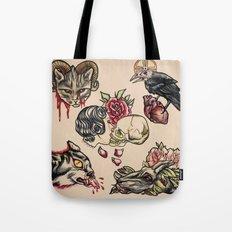 Tattoo Flash Tote Bag