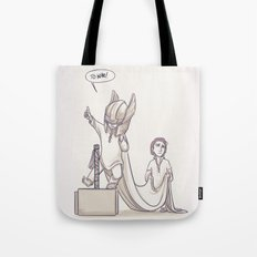 Doth Mother Know You Weareth Her Drapes? Tote Bag