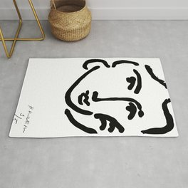 Henri Matisse Nadia With a Serious Expression, Original Artwork, Tshirts, Prints, Posters Rug