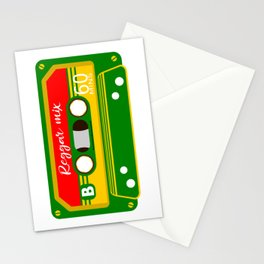 REGGAE MIX TAPE Stationery Cards