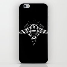 Geometric Moth 2 iPhone & iPod Skin