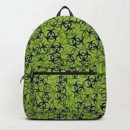 Biohazard (black on green) Backpack