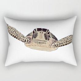 tortue marine Rectangular Pillow