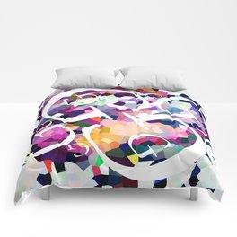 Perception Experiment 001 Garamond Comforters