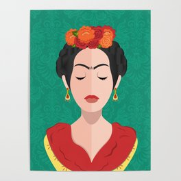 The Joyful Exit (Frida) Poster