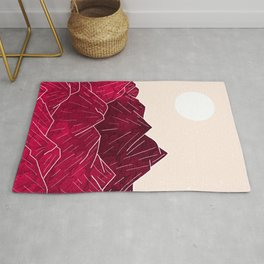 Ruby Mountains Rug