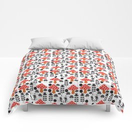 Fashionista Cats Kinoko Comforters
