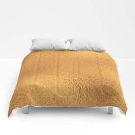 Simply Metallic in Bronze Comforters