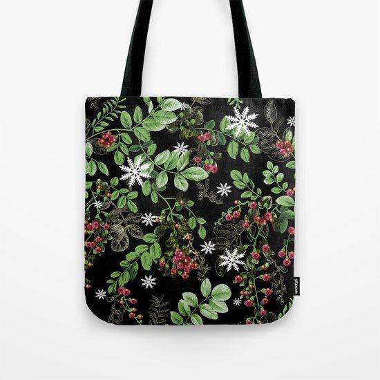 mid winter berries Tote Bag