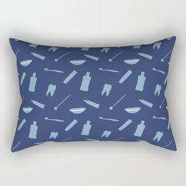 Dental Symbols Rectangular Pillow