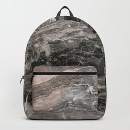 Smokey gray marble Backpack