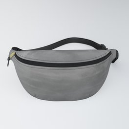 Burst of Color Gray Abstract Sponge Art Blend Texture Fanny Pack