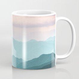 Smoky Mountain National Park Sunset Layers II - Nature Photography Coffee Mug