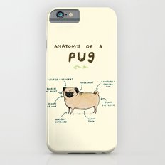 Anatomy of a Pug iPhone 6 Slim Case