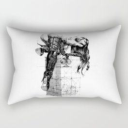 Over knees Rectangular Pillow
