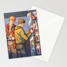 William and Theodore 23 Stationery Cards