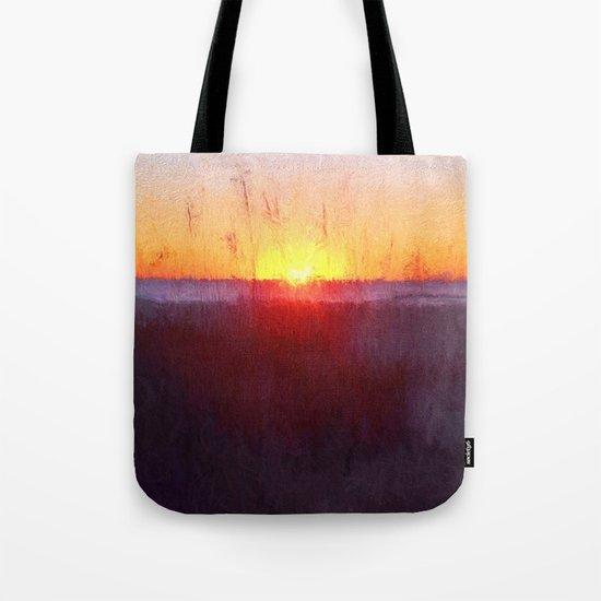 Florida Beach Scene #1 Tote Bag