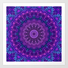 Harmony in Purple Art Print