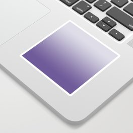 Ombre Ultra Violet Gradient Motif Sticker