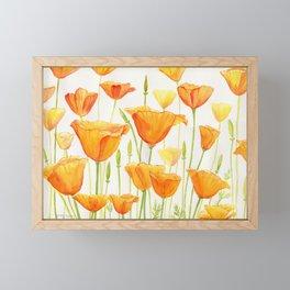 Blossom Poppies Framed Mini Art Print