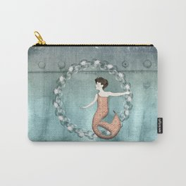 Mermaid Wreath Carry-All Pouch