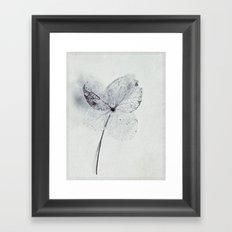 simple thing Framed Art Print