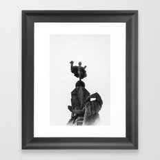 Freedom in Trujillo Framed Art Print