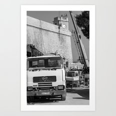 Working the Walls Art Print