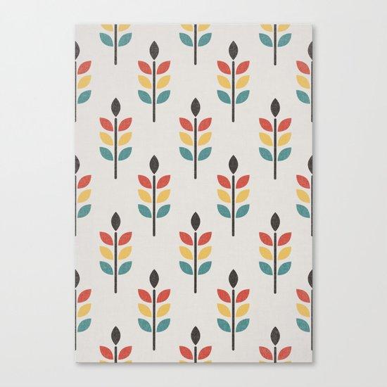 Leaf Pattern Canvas Print