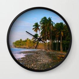 Dominican Coast Wall Clock