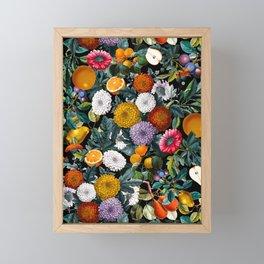 Vintage Fruit Pattern VIII Framed Mini Art Print