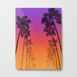 Rodeo Drive Sunset Metal Print