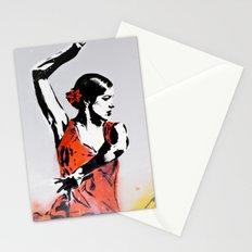 Las tres bailarinas Stationery Cards