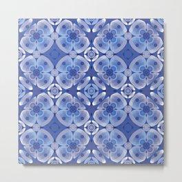 Periwinkle Flowers Metal Print