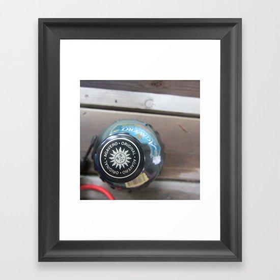 Agarevero Framed Art Print