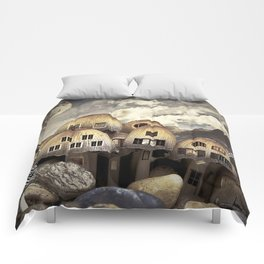 Mushrom Village Comforters