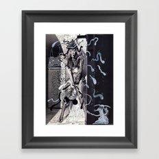 Psychoactive Bear 5 Framed Art Print