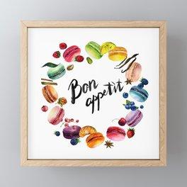 Bon Appetit Framed Mini Art Print