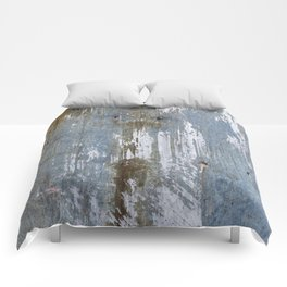 Abstract Rusty Grunge Metal Comforters