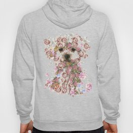 Vintage doggy Bichon frise.DISCOVER Hoody