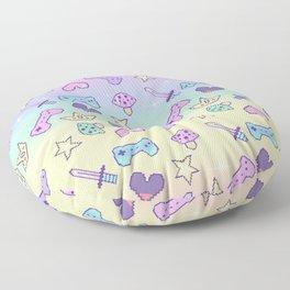 Independant Princess (pastel) Floor Pillow